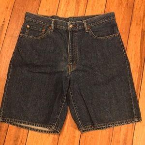 Men's Levi jean shorts